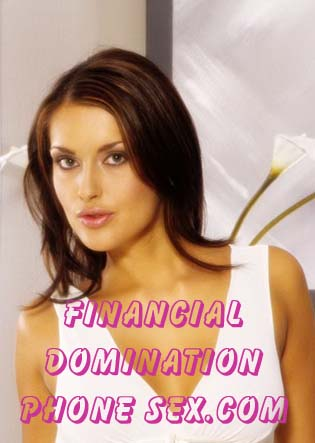 financial domination phone sex